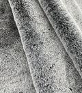 Soft Bear Faux Fur Fabric -Black Tipped