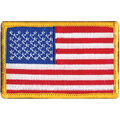 Wrights Iron-On Appliques-American Flag 2\u0022X3\u0022 1/Pkg