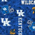University of Kentucky Wildcats Fleece Fabric -Digital Camo