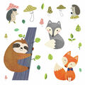 York Wallcoverings Wall Decals-Forest Friends