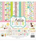 Echo Park Paper Company Hello Easter Collection 12\u0027\u0027x12\u0027\u0027 Kit