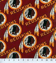 Washington Redskins Cotton Fabric 58''-Logo Circles, , hi-res