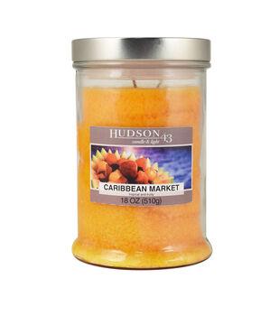 Hudson 43 Candle & Light Collection 18oz Caribbean Market Jar