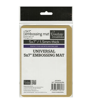 Couture Creations Universal 5''x7'' Latex Embossing Mat