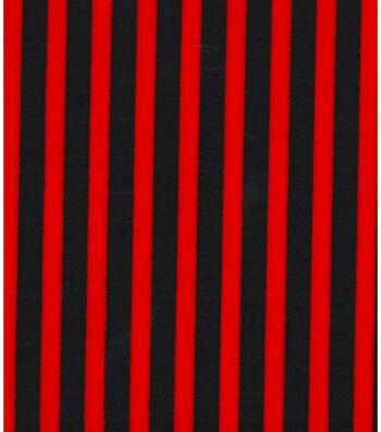 "Holiday Showcase Halloween Cotton Fabric 43""-Stripes"