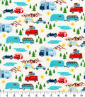 Novelty Cotton Fabric-Road Trippin\u0027