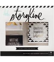 Heidi Swapp Storyline2 Deck of Days-Holiday, , hi-res