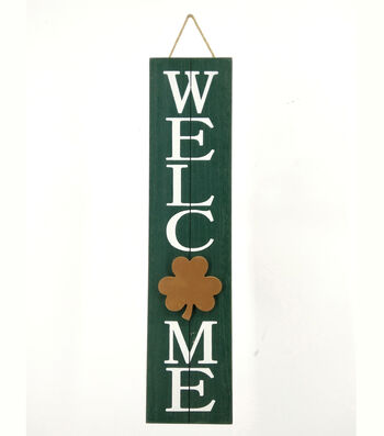 St. Patrick's Day Wall Decor-Welcome