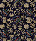 Marvel Fleece Fabric-Avengers Icons