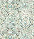 Kelly Ripa Upholstery Fabric 54\u0022-Blissfullness Spa