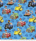 Nick Junior Paw Patrol Cotton Fabric -Rescue Car