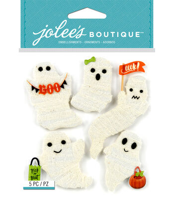 Jolee's Boutique Stickers-Gauze Ghosts