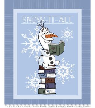 Disney Frozen 2 No Sew Fleece Throw-Olaf Snow It All