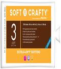 Soft n Crafty  Extra-Loft Batting 45\u0022x60\u0022