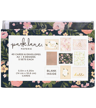 Park Lane Card & Envelope Sets-Fairytale Floral