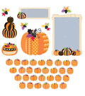 Pumpkin Patch Bulletin Board Set, 3 Sets