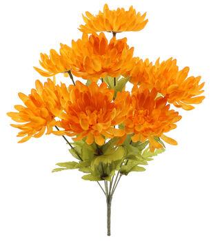 Blooming Autumn 17'' Mum Bush-Yellow