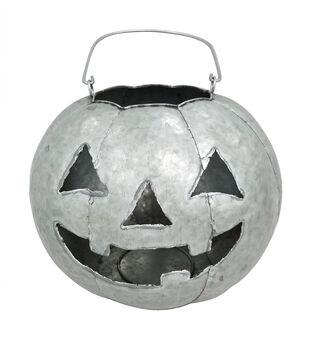 Maker's Halloween Large Jack-o'-lantern Porch Sitter
