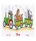 Vervaco 14.5\u0027\u0027x7.5\u0027\u0027 Counted Cross Stitch Kit-Tractor/Animal