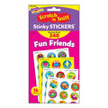 Fun Friends Stinky Stickers Variety Pack 240 Per Pack, 3 Packs