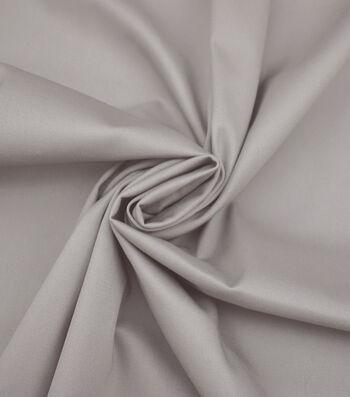Sportswear Apparel Stretch Twill Fabric 57''-Dove Solid