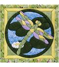 Dragonfly Quilt Magic Kit-12\u0022X12\u0022