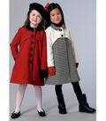 Vogue Pattern V9219 Children\u0027s/Girls\u0027 Snap-Closure Coats-Size 3-4-5-6