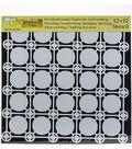 Crafter\u0027s Workshop Template 12\u0022X12\u0022-Newport Tiles