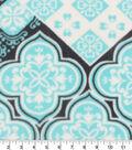 Anti-Pill Fleece Fabric 61\u0022-Marrakesh Floral Medallion