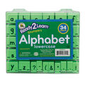 Ready2Learn Manuscript Alphabet Stamps, 1\u0022 Lowercase, 34 Stamps