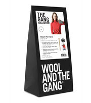 Wool And The Gang Missy Mittens Knit Kit-Tweed Gray, , hi-res