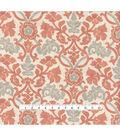 Waverly Upholstery Fabric 54\u0027\u0027-Coral Anika