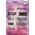 Studio Light Basic Mixed Media A6 Stamps-Sentiments