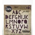 Sizzix Thinlits Dies By Tim Holtz 72/Pkg-Alphanumeric