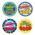 Teacher Created Resources I Was Caught Being Good Badges, 32/Pack