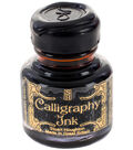Manuscript 6 pk 1.01 fl. oz. Calligraphy Ink Bottles-Sepia