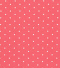 Quilter\u0027s Showcase Cotton Fabric -Aspirin Dots on Red