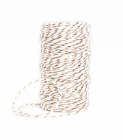 Park Lane Twine-Rose Gold & White, , hi-res
