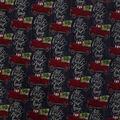 Super Snuggle Flannel Fabric-All Roads Lead Home Truck