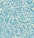 Dena Home Multi-Purpose Decor Fabric 54\u0022-Good Impression/Aqua