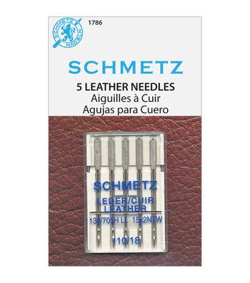 Schmetz Leather Machine Needles 5/Pkg-Size 18/110