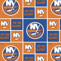 New York Islanders Cotton Fabric -Block