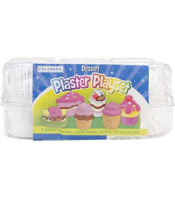 Colorbok Plaster Playset-Dessert