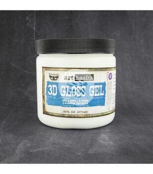 Transparent-Art 3D Gloss Gel 16 Oz