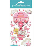 Jolee's Boutique Dimensional Stickers-Baby Girl - Special Delivery, , hi-res