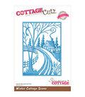 CottageCutz Elites Die -Winter Cottage Scene 3.6\u0022X5\u0022