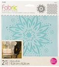 Fabric Creations Adhesive Stencil 6\u0022X6\u0022-Boho Flower
