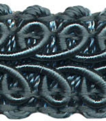 Ss 1/2 Peacock Decorative Braid