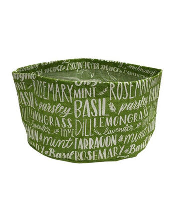 Hello Spring Gardening 5 Gallon Grow Bag-Herb Print