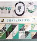 DCWV 36 pk 12\u0027\u0027x12\u0027\u0027 Premium Printed Cardstock Stack-Palms & Ferns